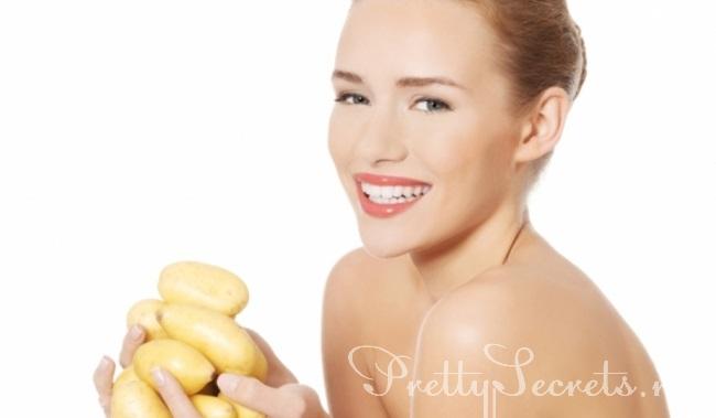 Что дает картофель для красоты