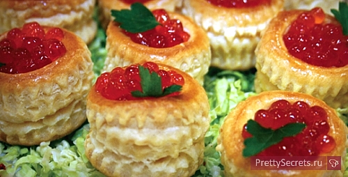 Изысканные новогодние закуски – тарталетки