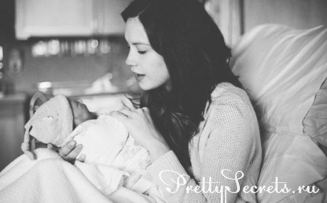 Как наладить контакт между мамой и новорожденным ребенком?