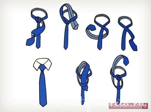 Как научится завязывать галстук?