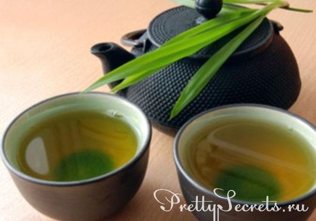 как похудеть на зеленом чае отзывы
