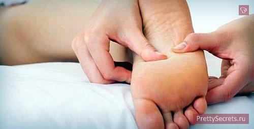 Как снять усталость с ног