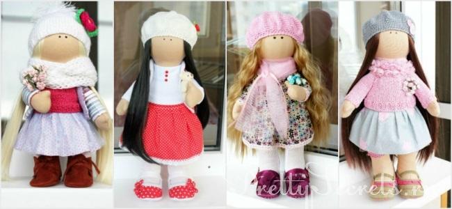 Кукла Снежка - мастер класс