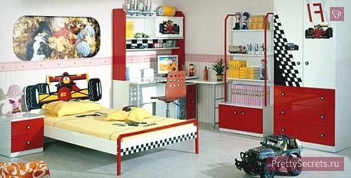 Мальчишечья детская комната