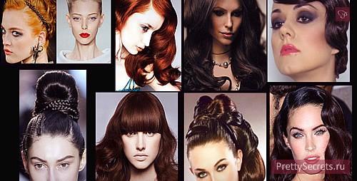 Модные стрижки и окрашивание волос - осень 2013