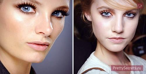 Модный макияж лето 2013
