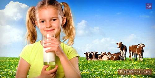 Полезно ли для ребенка молоко?