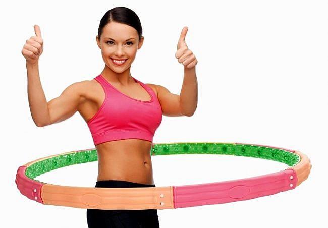Как похудеть с обручем упражнения