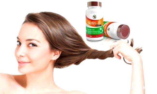 Польза биотина при выпадении волос